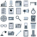Business vector icons Royalty Free Stock Photography