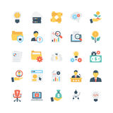 Business Vector Icons 10 Stock Images