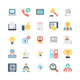 Business Vector Icons 4 Royalty Free Stock Photography