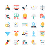 Business Vector Icons 6 Stock Images