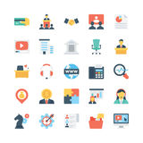 Business Vector Icons 5 Royalty Free Stock Photography