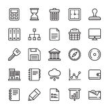 Business Vector Icons 4 Stock Images
