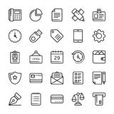 Business Vector Icons 1 Royalty Free Stock Images