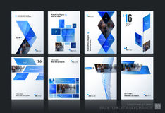 Business vector set. Brochure template layout, cover design annu Stock Image