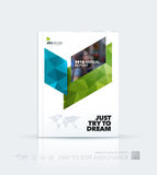 Business vector template. Brochure design, cover modern layout a. Nnual report, poster, flyer in A4 with blue diagonal abstract shapes for construction, teamwork vector illustration