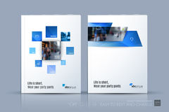 Business vector template. Brochure layout, cover modern design a stock illustration