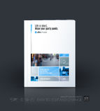 Business vector template. Brochure layout, cover modern design a Royalty Free Stock Photo
