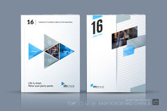 Business vector template. Brochure layout, cover modern design a vector illustration