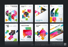 Business vector template mega set. Brochure layout, cover modern Royalty Free Illustration