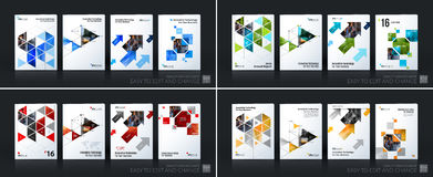 Business vector template mega set. Brochure layout, cover modern Royalty Free Stock Photography