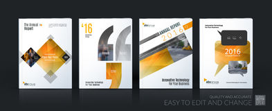 Business vector template mega set. Brochure layout, cover modern Royalty Free Stock Photos