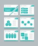 Business vector template presentation slides background design Royalty Free Stock Image