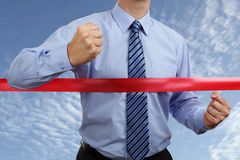 Business victory Stock Photography