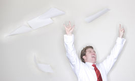Business victory Stock Photos