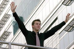Business victory - aris Stock Photography