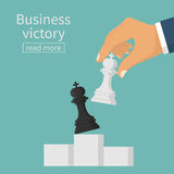 Business victory concept Royalty Free Stock Photos