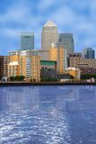 Business village - canary wharf Royalty Free Stock Photography
