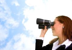 Business vision Royalty Free Stock Photography