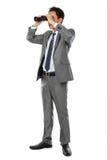 Business vision binocular Stock Photos