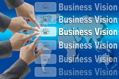 Business Vision Concept Stock Image