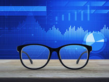 Business vision concept stock photography