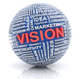 Business vision concept, 3d render Royalty Free Stock Images