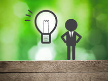 Business vision concept Stock Photos