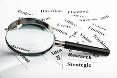 Business vision concept Stock Images