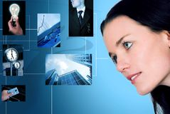 Business vision and creativity Stock Photos
