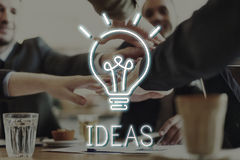 Business Vision Creativity Success Strategy Concept Royalty Free Stock Photography