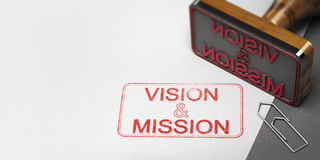 Business Vision and Mission Statement royalty free illustration