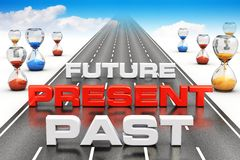 Business vision and perspective concept Royalty Free Stock Images