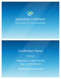 Business visiting card design elements template Stock Photography