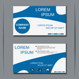 Business visiting card vector template Stock Photo
