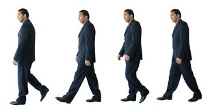 Business walk - je Royalty Free Stock Image