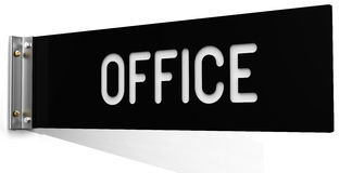 Business wall corridor Office sign Stock Image