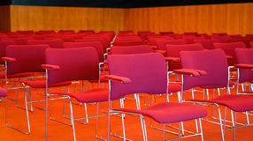 Business wall seats - Stock Image Stock Photo