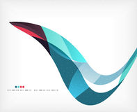 Business wave corporate background Royalty Free Stock Photo