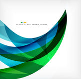 Business wave corporate background Royalty Free Stock Photography