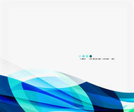 Business wave corporate template Royalty Free Stock Photos