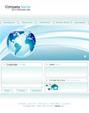 Business web site template Stock Photo