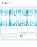 Business Web Template Royalty Free Stock Photo