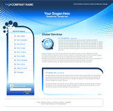 Business Web template Stock Photography