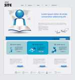Business website Stock Photography