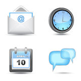 Business website icon set Royalty Free Stock Photo