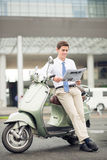 Business on wheels Stock Images