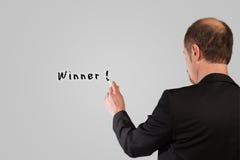 Business Winner vector illustration
