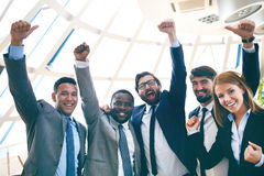 Business winners Royalty Free Stock Photo
