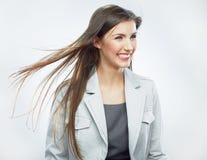 2 business woman 在行动的头发 库存图片