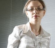 Business woman. Portrait of a contemporary business woman stock images